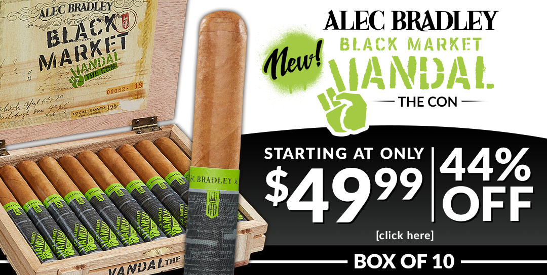New Alec Bradley boxes starting at $49.99