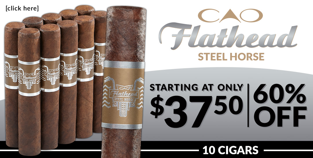 Starting at $3.75 per cigar