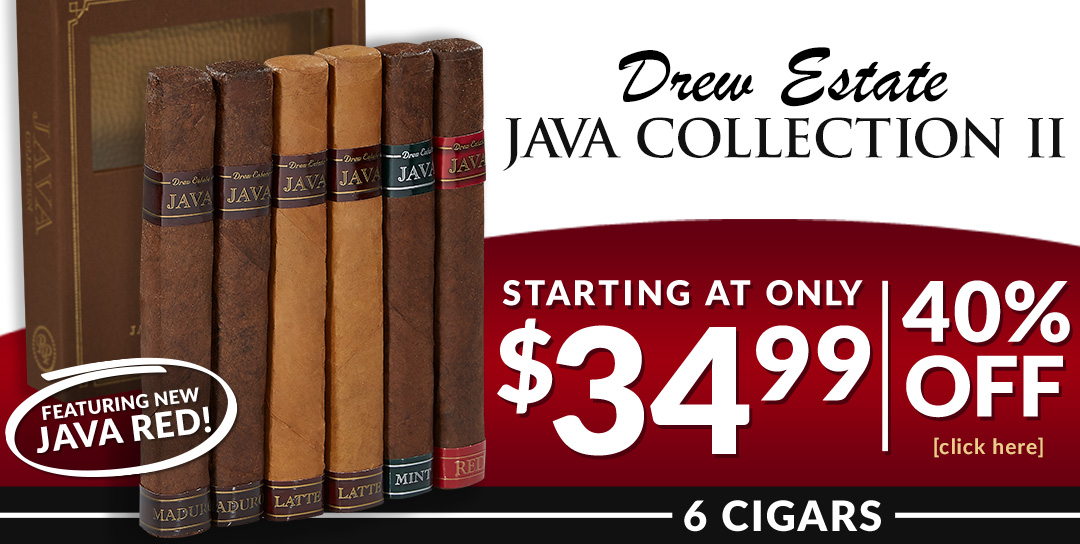Java's best up to 40% off