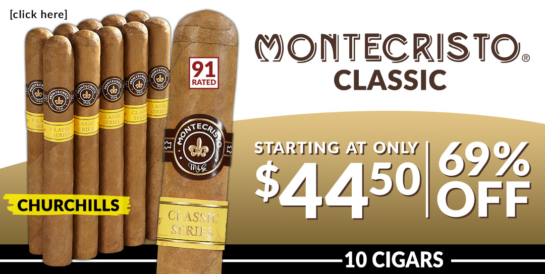 The Finest Montecristo over 60% off