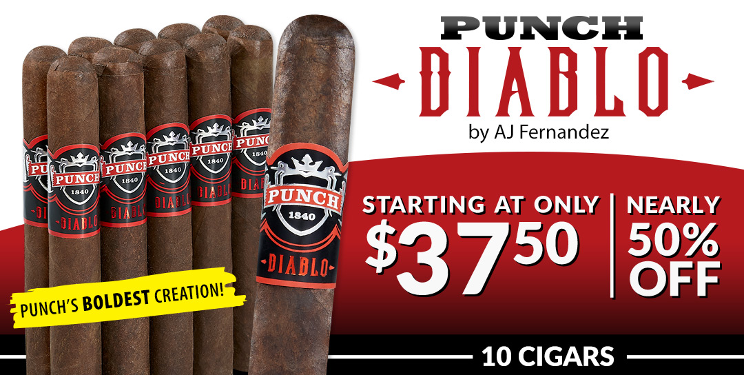 Starting at just $3.75 per cigar